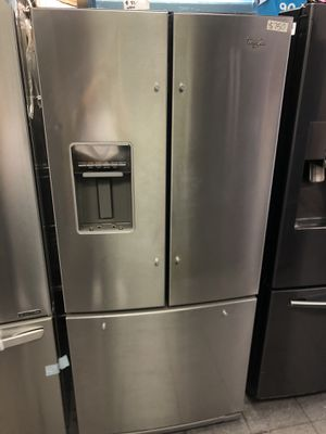Whirlpool French 3 Door Refrigerator for Sale in Los Angeles, CA