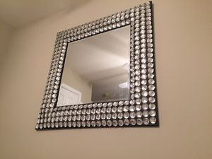 Crystal Gemstone Accented Mirror for Sale in Chester, VA