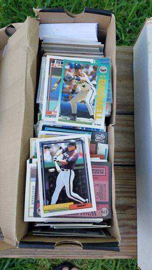 Baseball card collection 5000 cards for Sale in Pasadena, TX