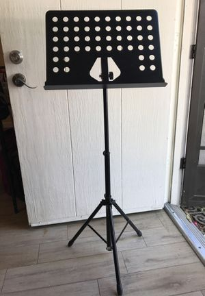 Music Stand - Black for Sale in Mission Viejo, CA
