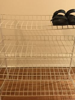 4 Tier Shoe Rack for Sale in Chicago,  IL