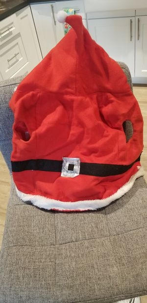 Santa costume for pet for Sale in Fontana, CA