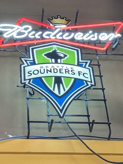 Budweiser Sounders FC Neon for Sale in Kirkland,  WA