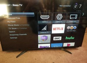 Sharp 43 inch smart TV, Roku Tv no for Sale in Cleveland, OH