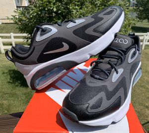 NEW MENS NIKE AIR MAX 200 WTR BLACK SILVER SHOES SIZE 11 12 for Sale in Lewis Center, OH