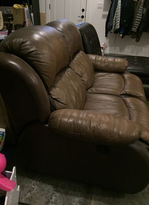 Reclining Loveseat couch for Sale in Wasilla, AK