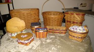 Longaberger Baskets for Sale in Vancouver, WA