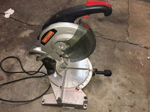 "Craftsman 10"" compound miter saw for Sale in San Jose, CA"