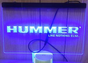 Hummer 3D engraved LED Neon Light Sign Wall Decor for Sale in Akron, OH