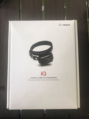 Dog Training collar. IQ by dogtra for Sale in Revere, MA