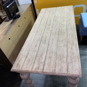 63 Inch Solid Wood Dining Table for Sale in Atlanta, GA