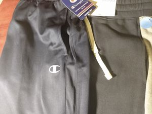Brand New men's jogger pants. Champion pair & Arizona brand both size medium for Sale in Tulsa, OK