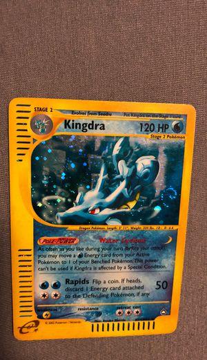 Kingdra holo pokemon RARE E-series for Sale in Oakland, CA