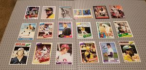!!HOF BASEBALL CARD LOT!! R.HENDERSON #482 ROOKIE plus Gibson rookie and others for Sale in Glendora, CA