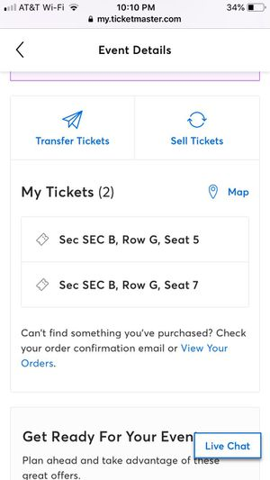 2 TIX INCUBUS Make yourself 20yr tour GREEK THEATER 10/26 for Sale in Los Angeles, CA