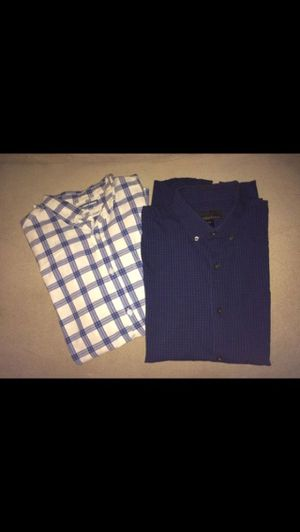 Two men's small dress shirts for Sale in Milnesville, PA