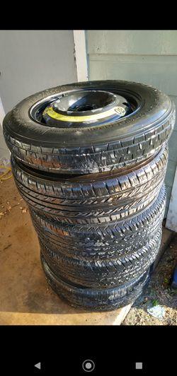 Tires an front suspension parts for Sale in San Antonio,  TX