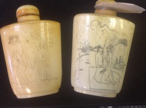 Wow. Vintage Antique Asian perfume bottle set for Sale in Austell, GA