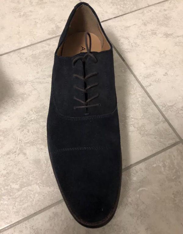 Brand new Aldo Blue Oxford dress shoes. Never worn. Retail for $110