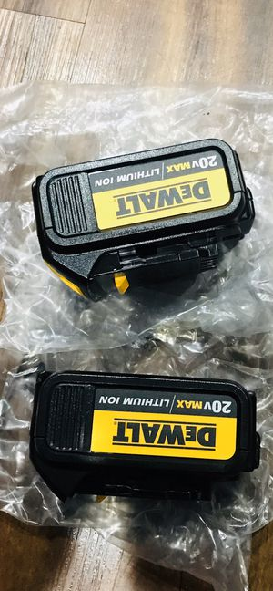 Dewalt 20v Lithium battery. for Sale in Norwalk, CA