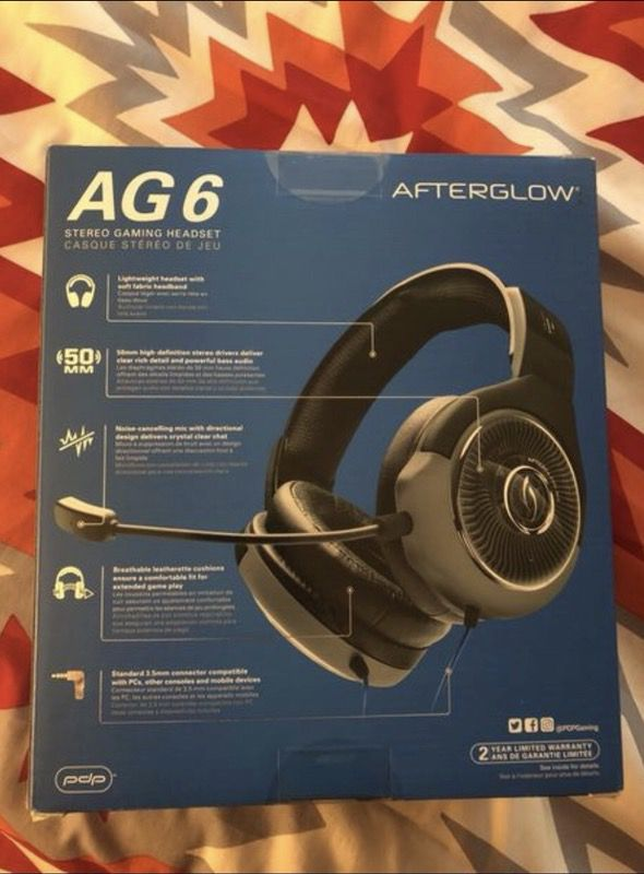 Afterglow AG 6 PS4 headset for Sale in Las Vegas e19be35cff2b4