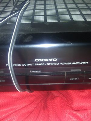 onkyo discrete output stage/stereo power amplifer for Sale in Fresno, CA