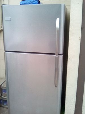 Fridge refrigerator freezer Frigidaire Kenmore Emerson whirlpool delivery available stainless steel appliances appliance apartment size for Sale in San Bernardino, CA