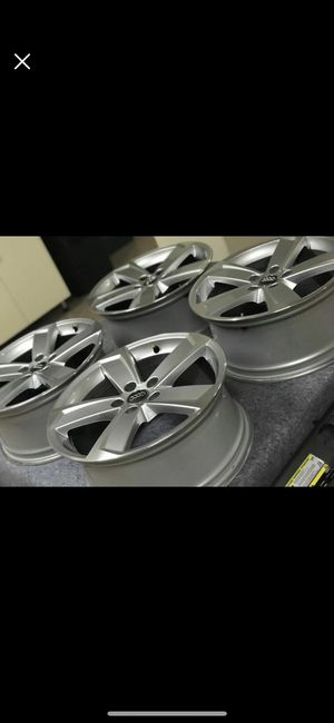 OEM AUDI RIMS and GRILLE for Sale in Mission Viejo, CA