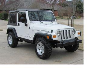 Great Offer 2005 Jeep Wrangler Rubicon PreRunner FWDWheels for Sale in Seattle, WA