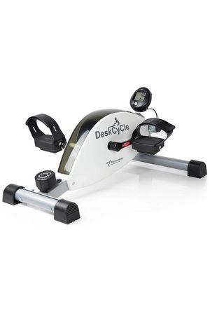 Desk cycle exercise bike pedal exerciser in white for Sale in Los Angeles, CA