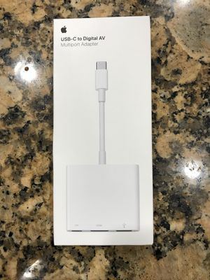 USB-C to digital AV apple adapter for Sale in San Francisco, CA