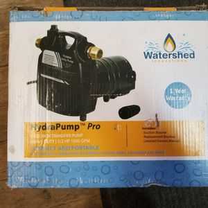 Watershed HydraPump Pro for Sale in Crestline, CA