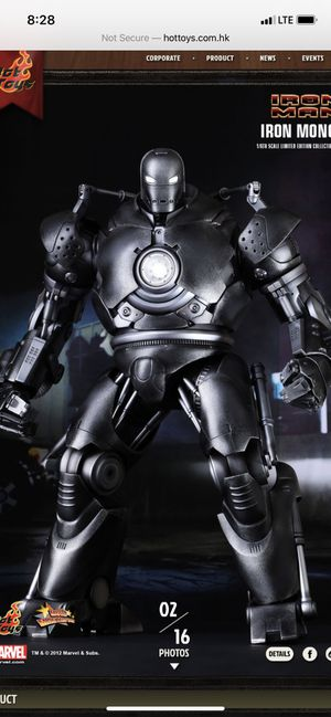 Hot Toys Iron Monger for Sale in Queens, NY
