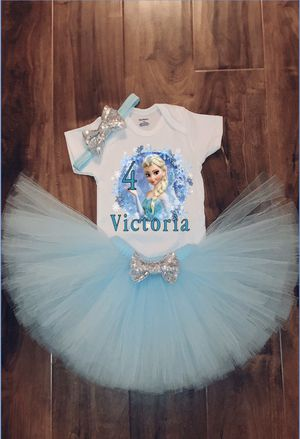 Frozen Birthday outfit for Sale in San Antonio, TX