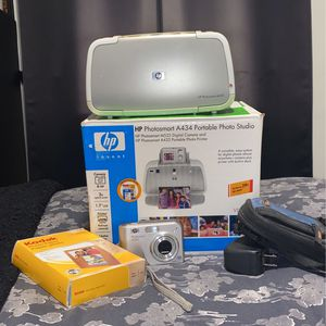 hp photosmart a434 portable photo studio for Sale in Los Angeles, CA