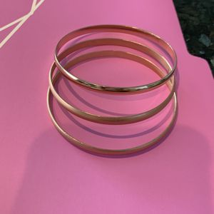 3 Rose gold Bangle Bracelets for Sale in Chino, CA