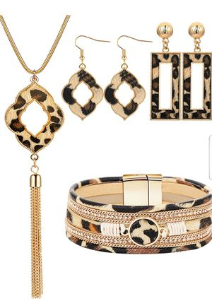 Leopard Jewelry Set for Sale in Fort Worth, TX