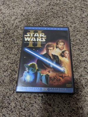 Star wars clone wars episode 2 dvd for Sale in Hillsboro, OR