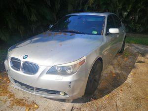 2006 BMW 550i Sedan Fully Loaded for Sale in Sunrise, FL