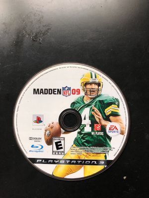 NFL madden 09 ps3 for Sale in Alexandria, VA