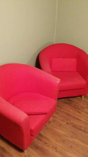 Fun red chairs for Sale in Payson, UT