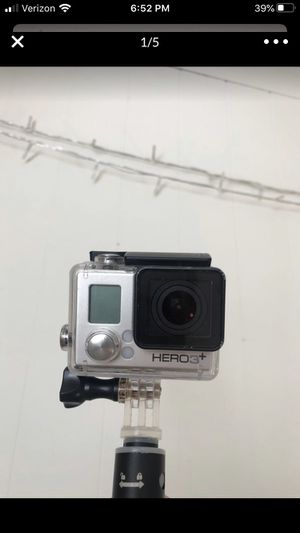 Go Pro Hero 3+ with water housing and extendable selfie stick for Sale in Los Angeles, CA