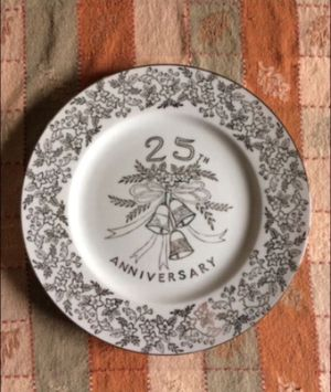 Norcrest Fine China 25TH Anniversary Plate for Sale in Hazleton, PA