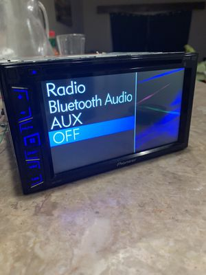 Pioneer double din touchscreen 6.5 inches for Sale in North Bethesda, MD