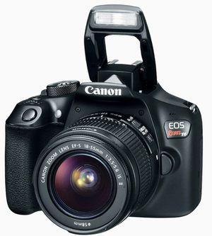 NEVER USED - CANON EOS REBEL T6 DSLR CAMERA + Lenses & Accessories (ORIGINAL PACKAGING) for Sale in Gilbert, AZ