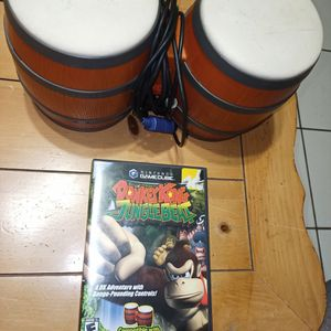 Donkey Kong Jungle Beat With Bongos - GameCube for Sale in Hialeah, FL