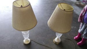 Great shape lamps for Sale in Sanger, CA