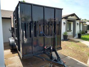 2006 utility trailer with storage for Sale in Phoenix, AZ