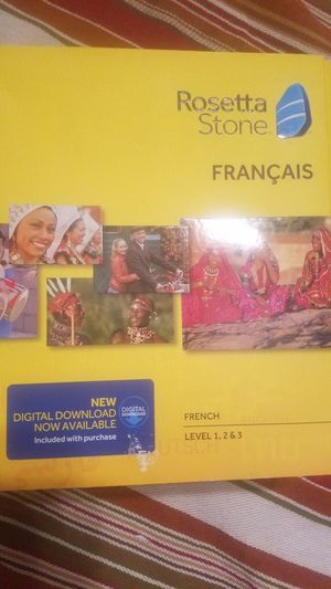 Never used Rosetta stone French for Sale in Slatington, PA