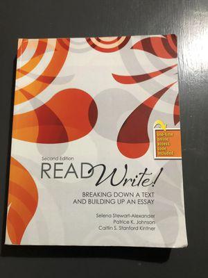 Read Write Second Edition for Sale in Dallas, TX